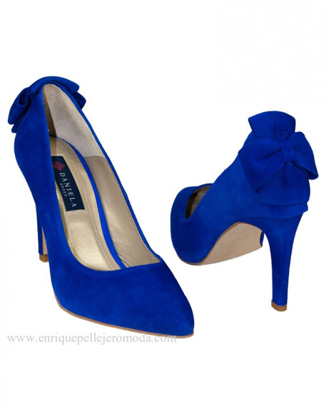 Electric blue shoes Daniela Shoes
