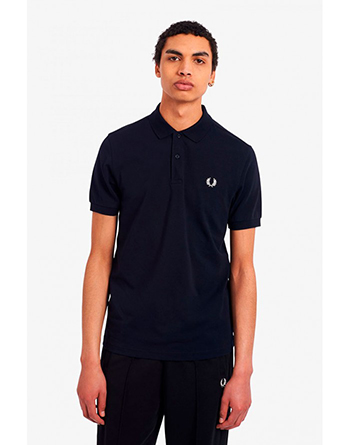 Fred Perry navy blue polo shirt