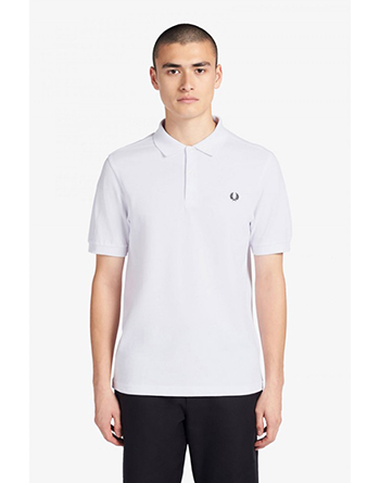 Fred Perry white polo shirt