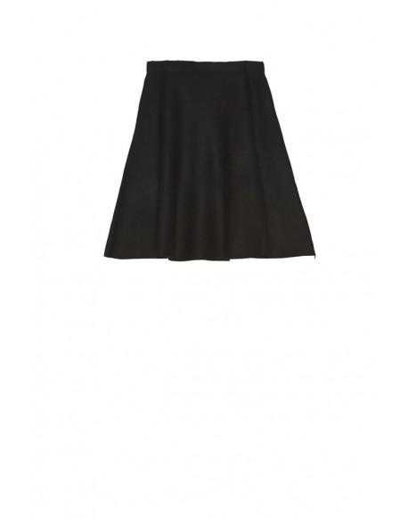 MdM falda negra de punto