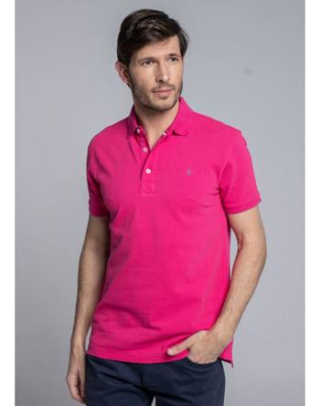 Valecuatro polo shirt fuchsia man