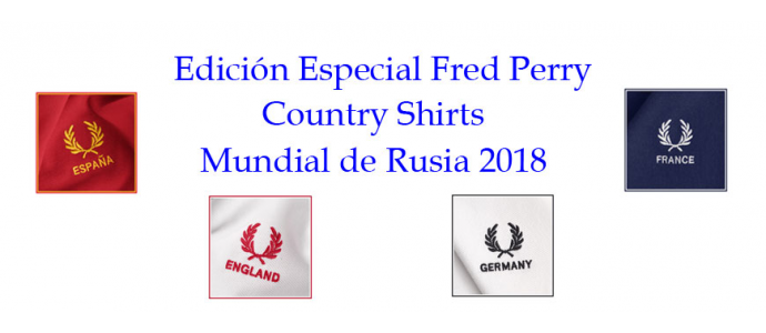 Special edition Fred Perry polo selections Russian World Cup 2018